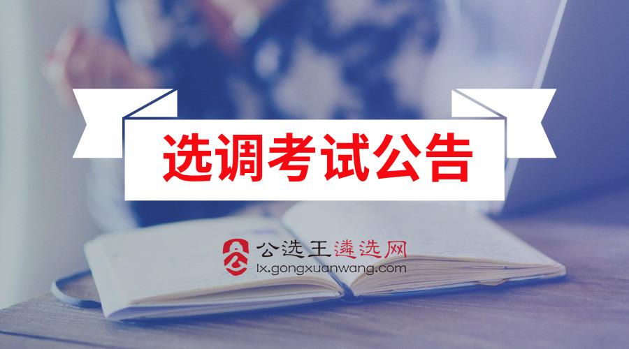 徐州市直选调60名公务员!报名时间仅两天