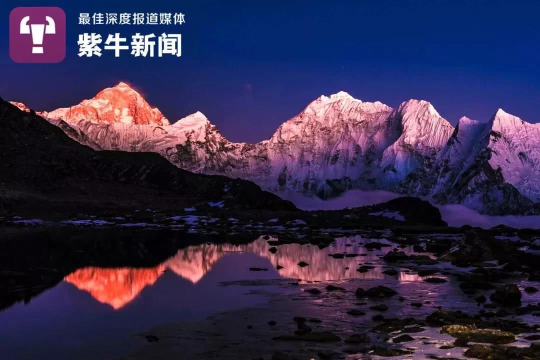 川大教授拍出喜马拉雅山脉雪山图,包含近千座山峰