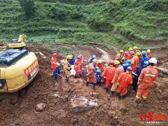 <b>贵州水城山体滑坡:村民村干部称意外,此前这里没发生过地质灾害</b>