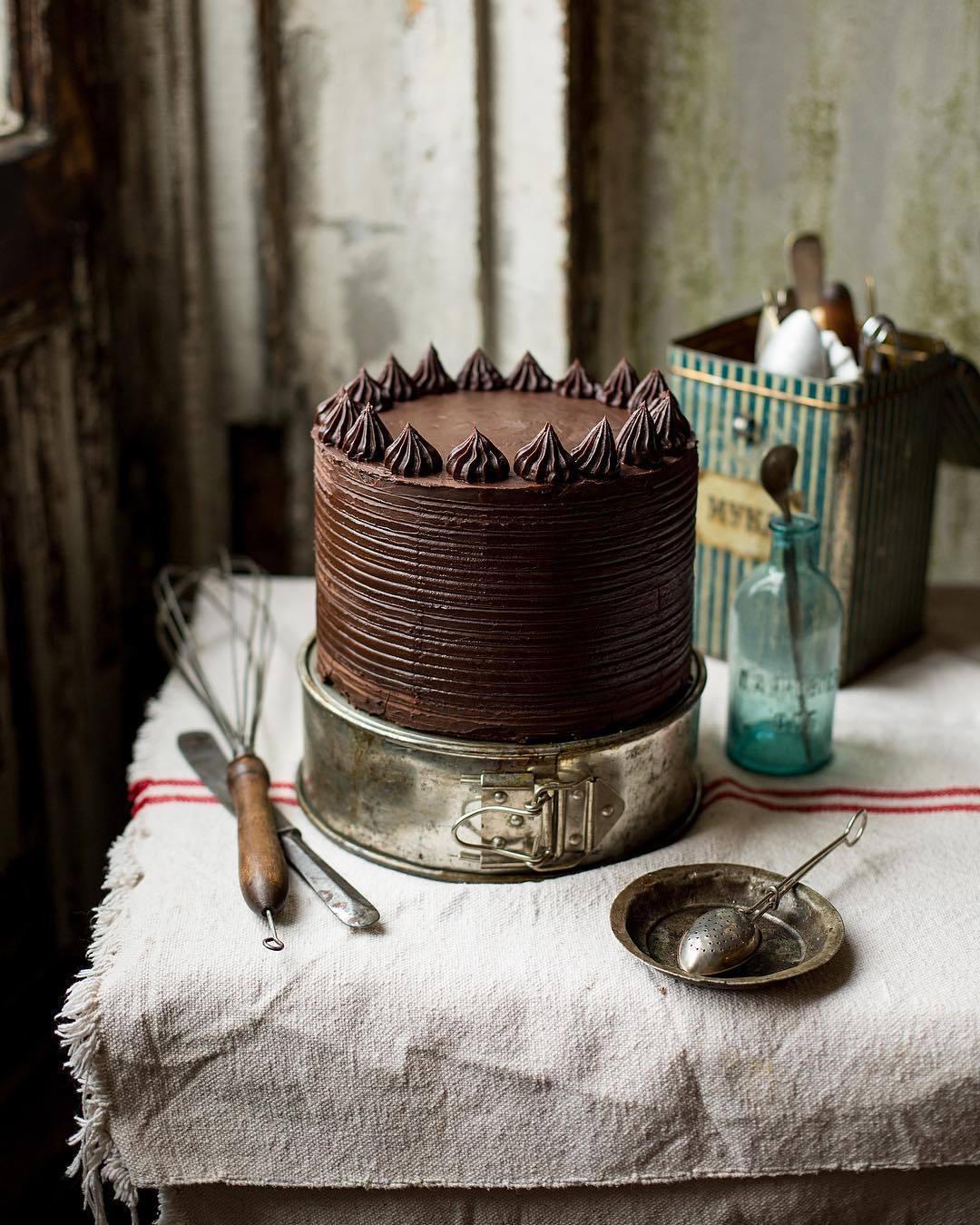 宠物-这位漂亮的美女蛋糕师,让猫咪来为蛋糕代言,将平淡无奇的蛋糕化腐朽为神奇(62)