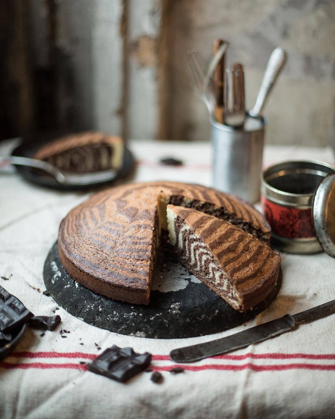 宠物-这位漂亮的美女蛋糕师,让猫咪来为蛋糕代言,将平淡无奇的蛋糕化腐朽为神奇(19)