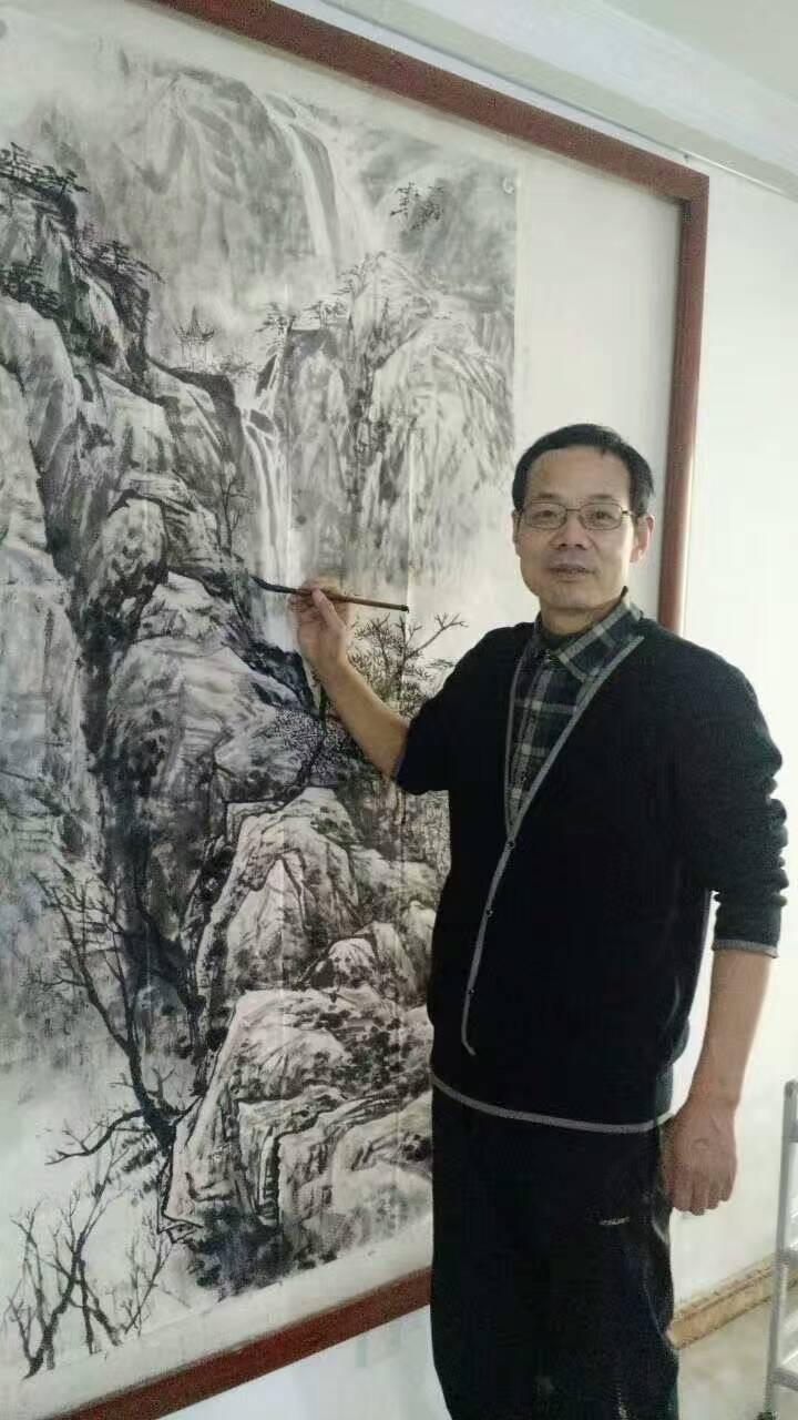 中国画名家——画家于鹏山水画欣赏
