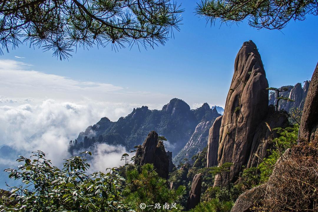 """江西最美的""""仙山""""免费啦,每个角度都美得震撼人心!"""