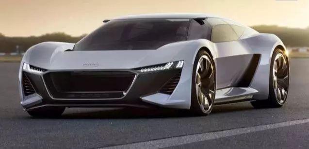 奥迪纯电动超跑VS国产电动超跑未来K50