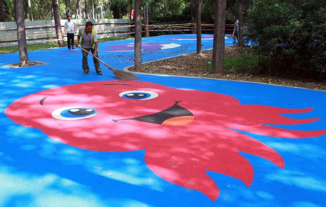 市区又添休闲娱乐好去处,儿童娱乐广场和市民休闲广场8月投用!