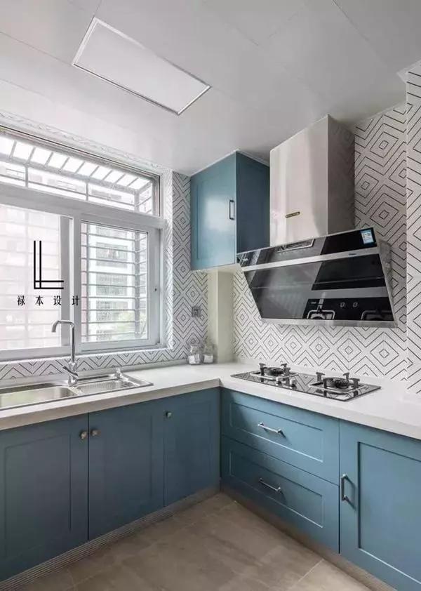 5款厨房橱柜装修效果图供参考