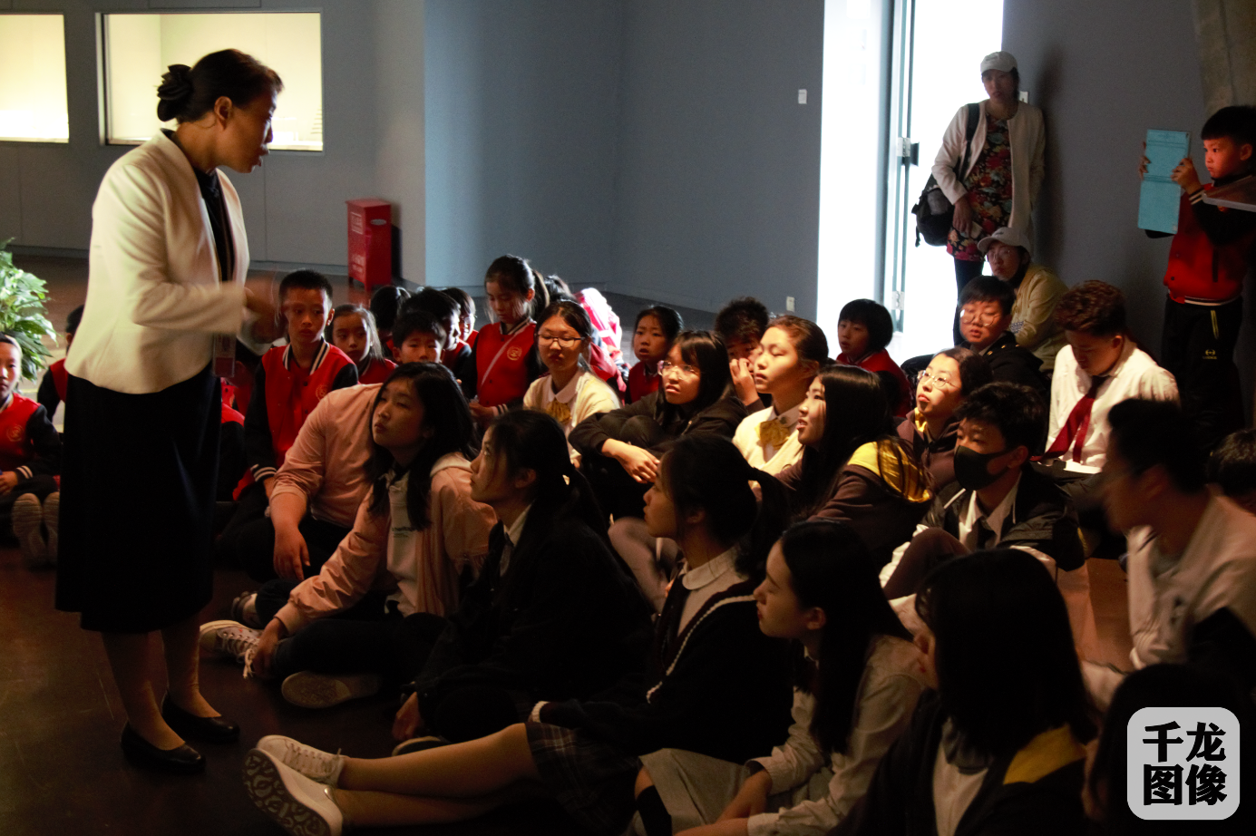 北京海淀凯文学校走进首都博物馆