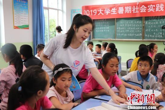 甘肃高校探索农村推广普通话助脱贫