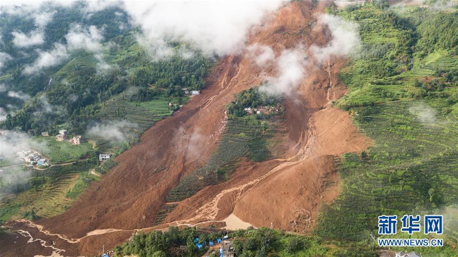 贵州水城县山体滑坡已造成11人死亡
