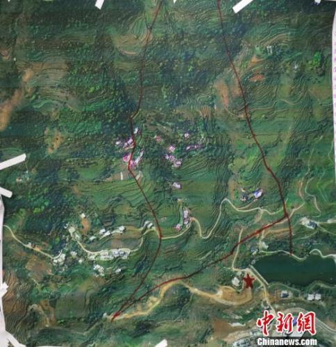 受大雨影响,贵州水城山体滑坡救援现场部分区域再次滑坡