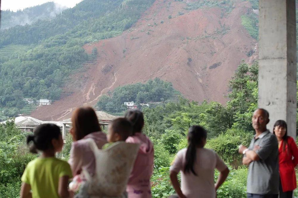 贵州水城山体滑坡遇难者家属:妹妹遗体被找到,孩子不知被冲到了哪里