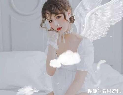 大胃王猫妹妹婚纱照,谁注意她的肚子?
