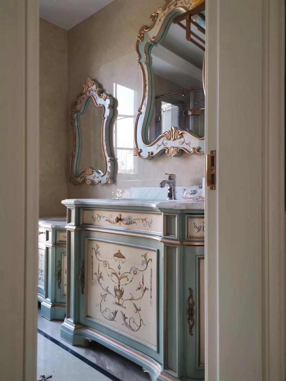 福溢家居定制洗手台,适合小户型