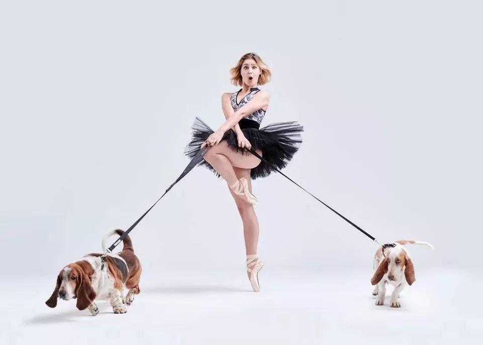宠物-与狗狗共舞的芭蕾舞者(15)