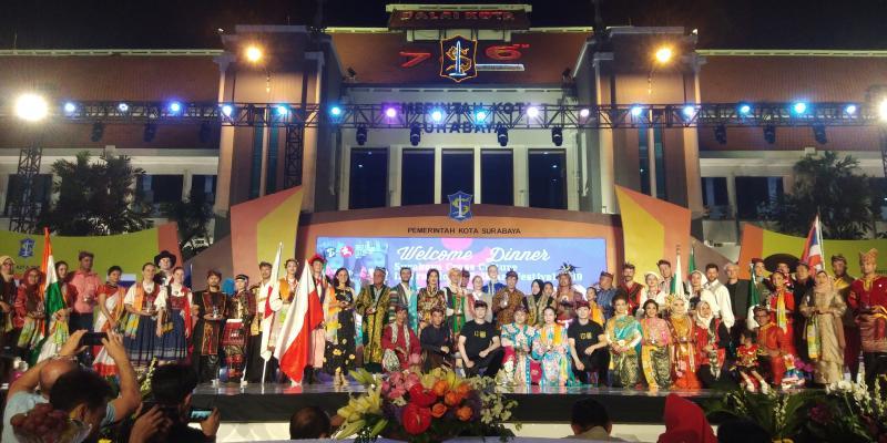 广州国际友城文化艺术团赴印尼泗水市开展文旅交流