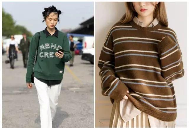 毛衣+毛衣,冬季穿搭5个套路,真的很好看哦