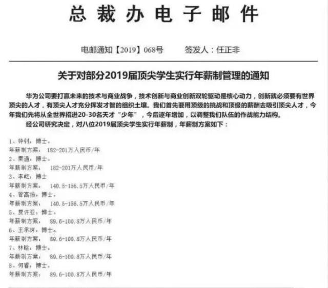华为寒门博士年薪200万:孩子,不努力读书,可别想出人头地