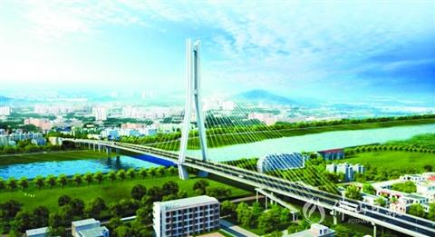 新石南大桥下月开建