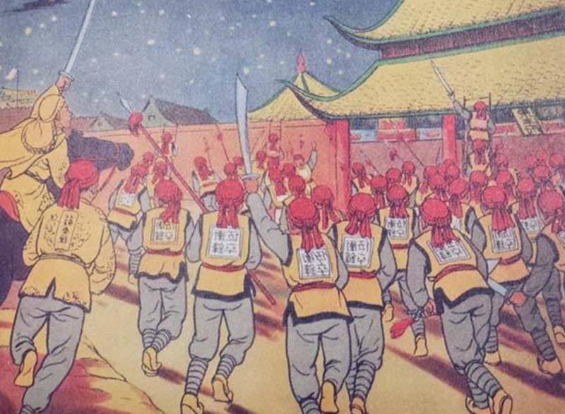 天京政变,杨秀清惨遭灭门之灾,百年后,一美国人认祖归宗