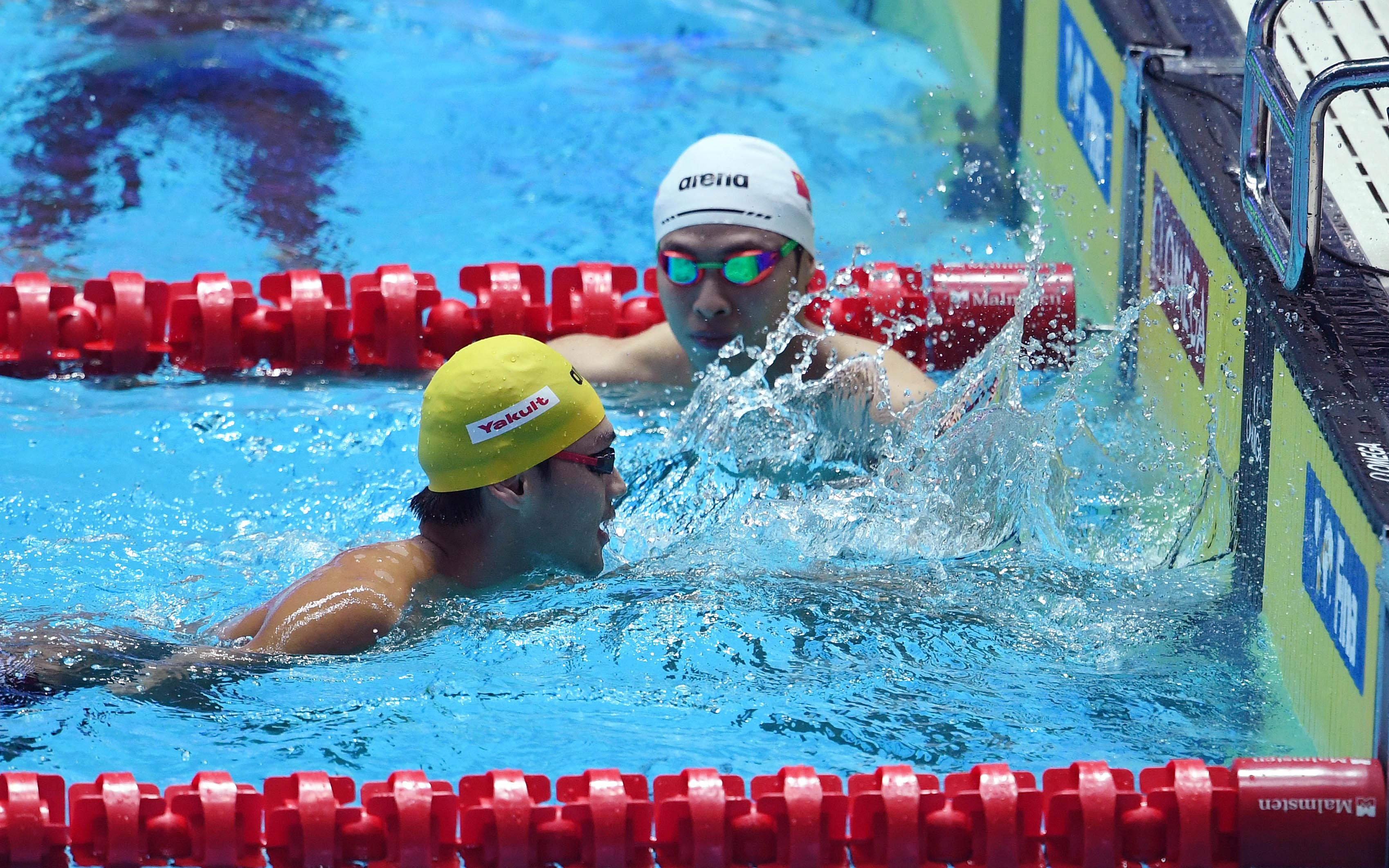 游泳 男子200米仰泳 徐嘉余退赛图片 1073657 3396x2124