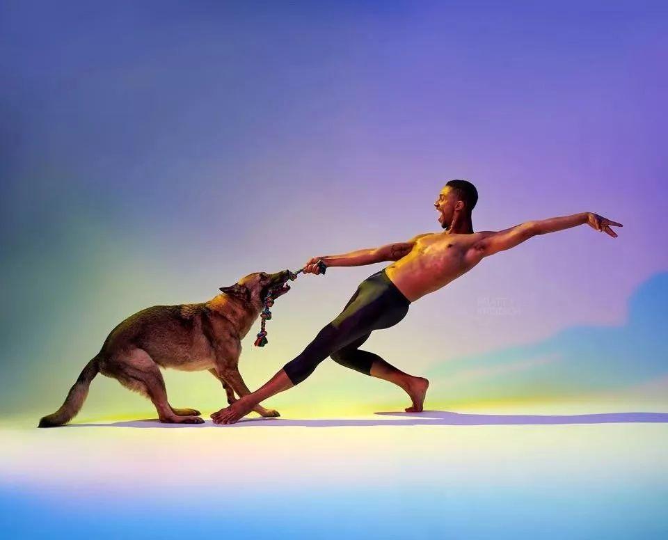 宠物-与狗狗共舞的芭蕾舞者(23)