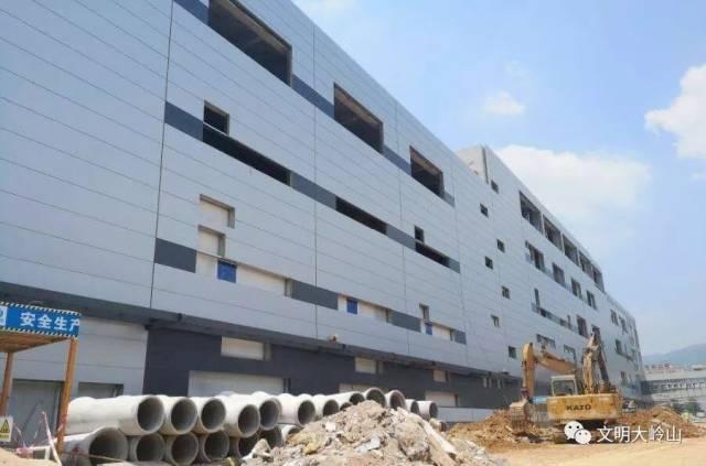 大岭山镇这项目下月底试投产,年产值达45亿元!
