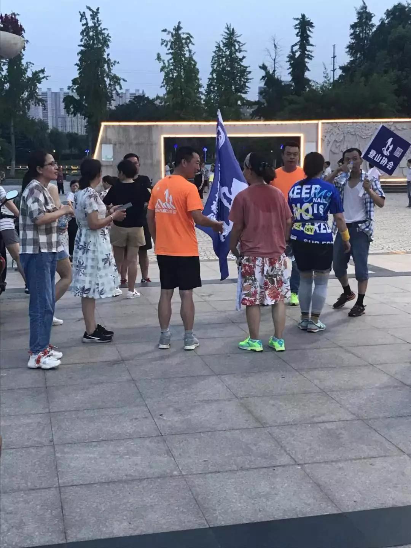 润泰社区:全民健身 夏日夜跑