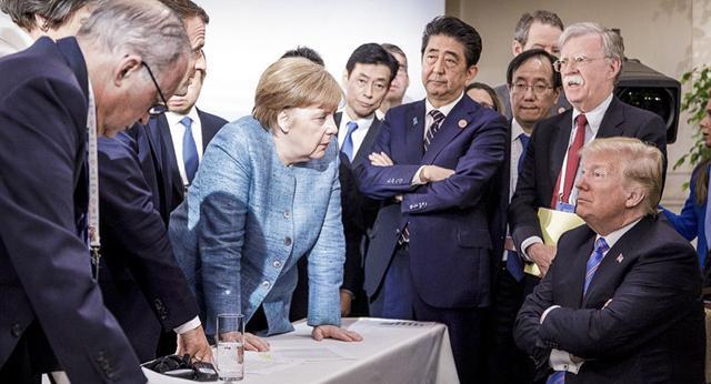 """特朗普称欧盟""""在贸易上剥削我们"""",德国是""""最大的罪犯""""_德国新闻_德国中文网"""