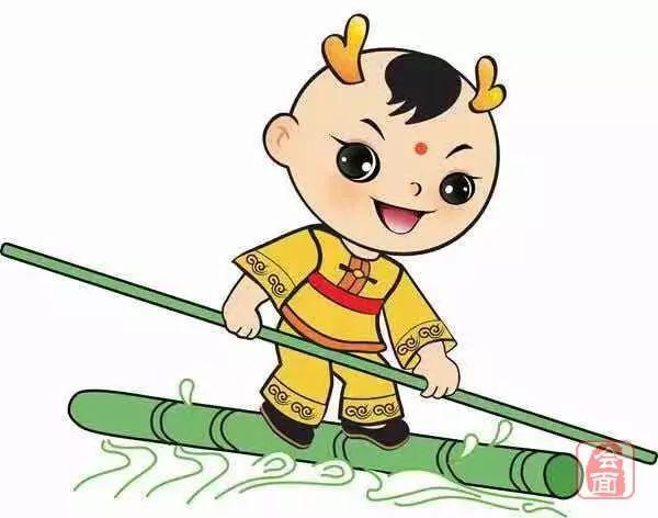 """?【民族的大团结 你我的运动会】被誉为""""中华一绝""""的独竹漂"""