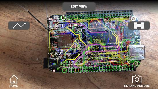 PCB版设计的AR应用已经开始测试 目前仅限部分平台使用
