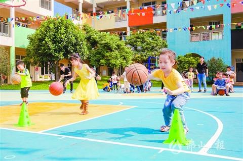 明年全市普惠性幼儿园占比超80%