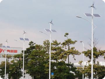 40w 一体化太阳能风光互补路灯