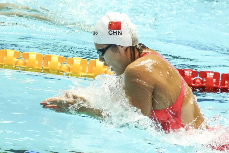 叶诗文200米蛙泳获第4 称今后提高蛙泳单项训练时间