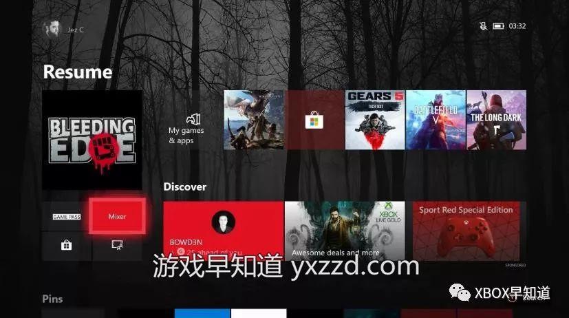 Xbox One新主页UI界面亮相 已向预览用户推送