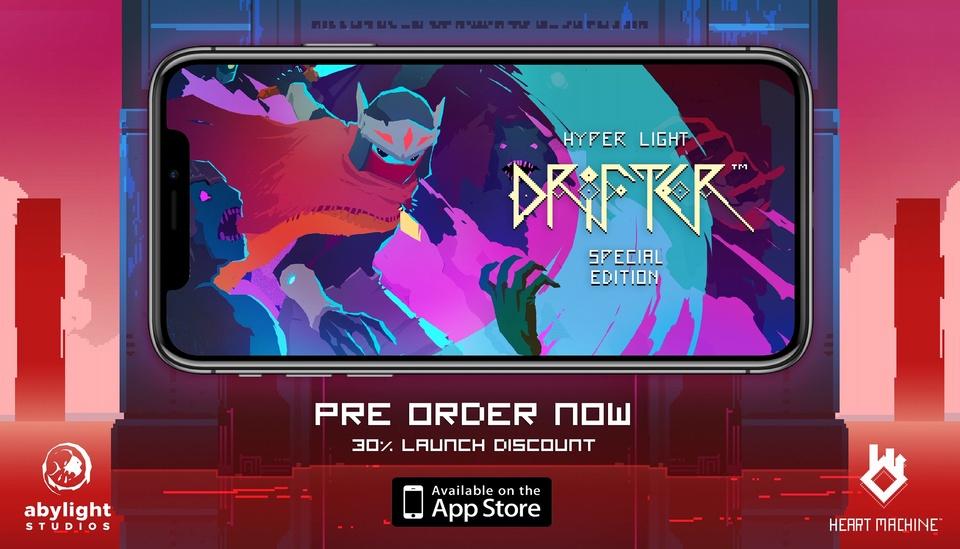 高分像素动作游戏《Hyper Light Drifter》上架 App Store