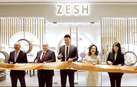 ZESH北京国贸商城精品店正式开业 推出Cubelet全新系列及国贸限量版
