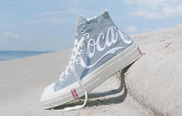 入手难度史上最高!全新KITH x Coca-Cola联名CONVERSE鞋款释出!