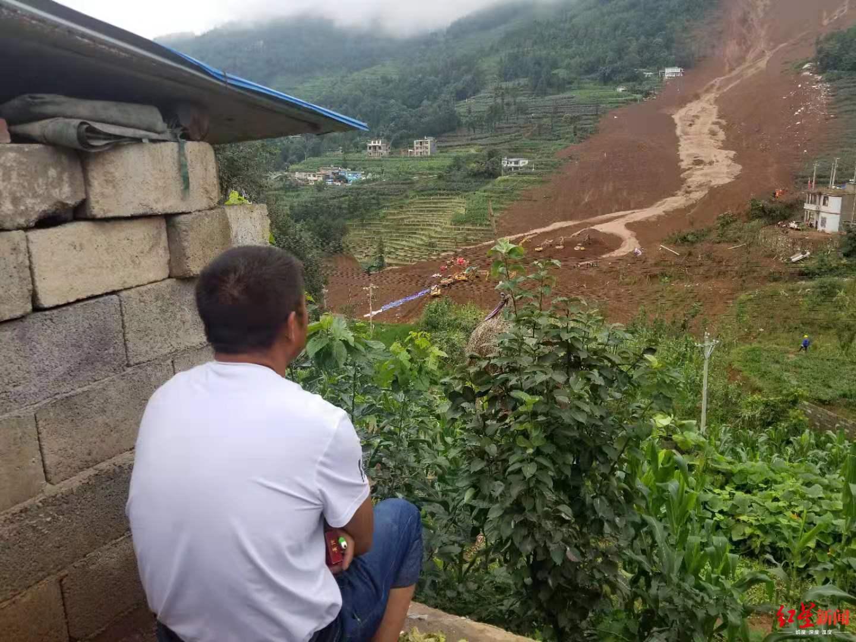 直击贵州水城山体滑坡:男子小姑一家10口被埋,4人已遇难