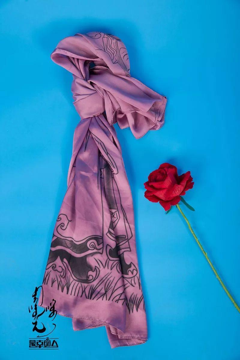 美炸天的蒙古元素围巾 让你的朋友圈点赞不停