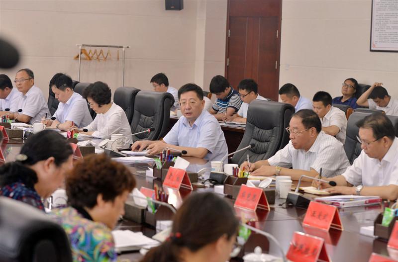 魏晓明在市脱贫攻坚领导小组会议上强调
