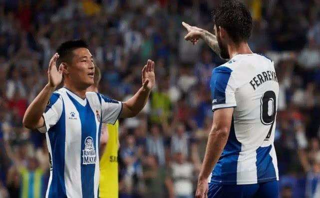 欧联杯首秀!武磊完成间接助攻和吊射攻门,三点做好新赛季可期