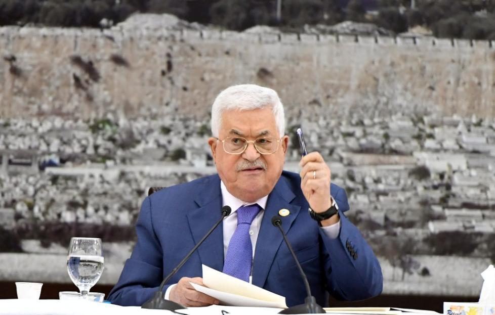 巴勒斯坦总统谴责以色列违背国际法 称将中止与以方全部协议
