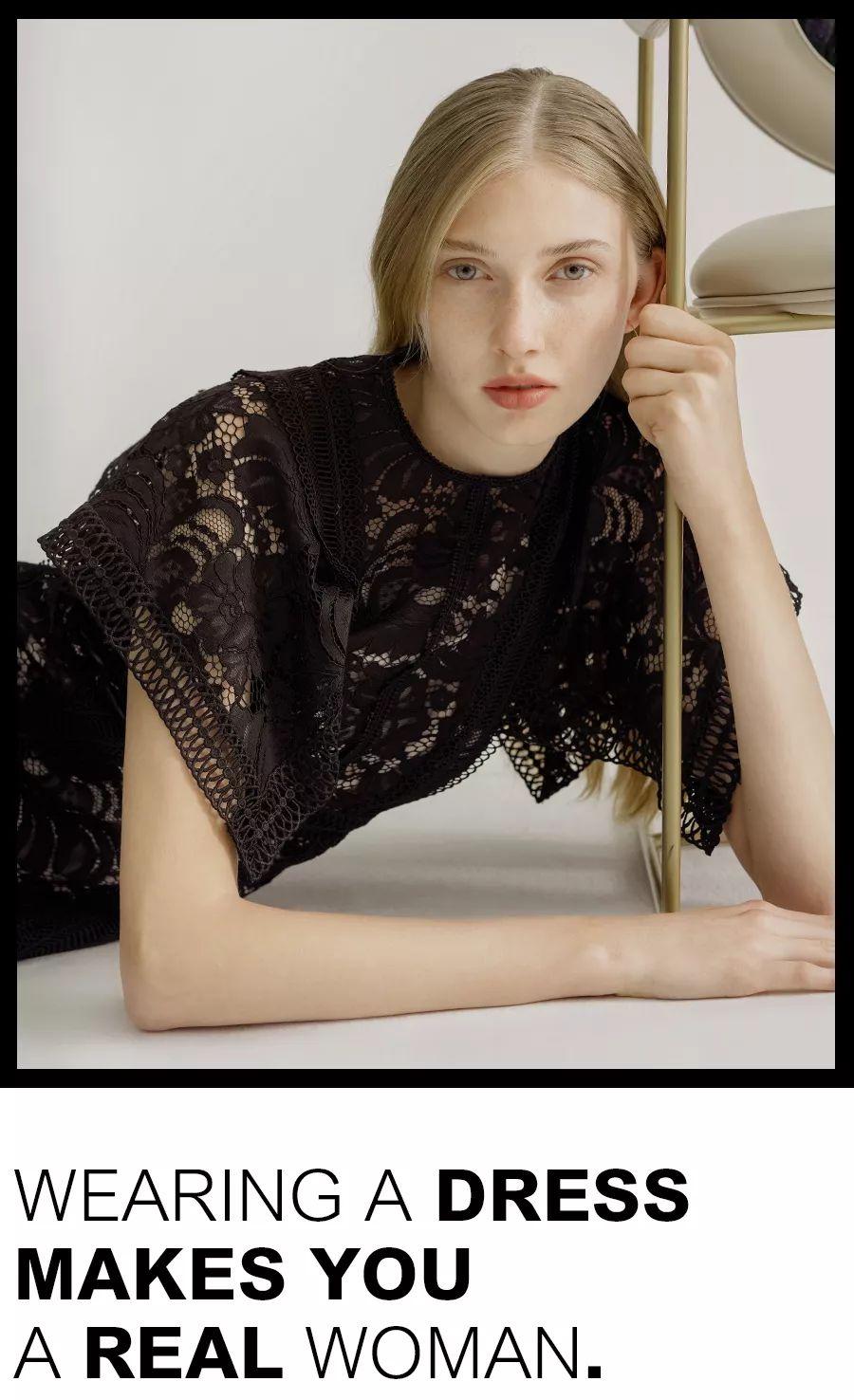 大洋天地 |【MIGAINO】藏在连衣裙里的女人味