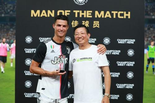 2019国际冠军杯中国开赛 康宝莱鼎力提供营养支持