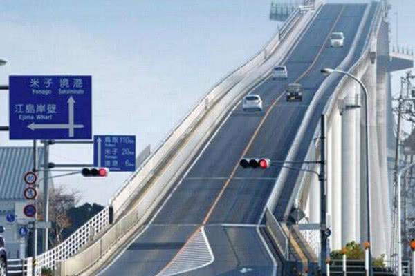 """日本""""垂直大桥""""规模,引全球轰动,建桥技术超中国?"""