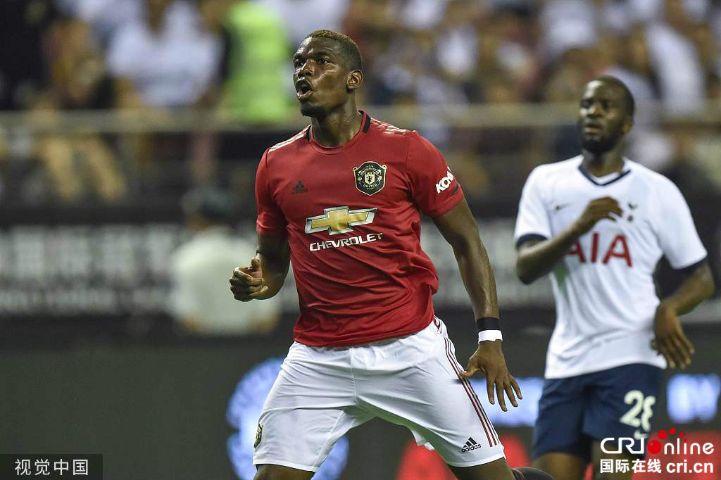 国际冠军杯-曼联2-1热刺 马夏尔建功卢卡斯破门