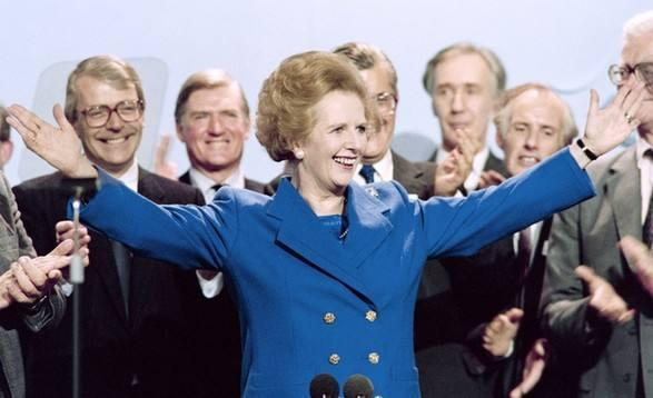 1991年撒切尔夫人访问美国时的演讲为何引起全球轰动?