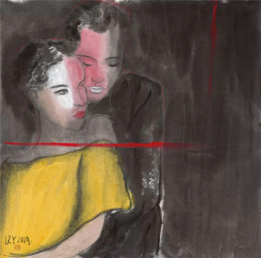 罗马女人嫩穴_展讯  锦瑟——龙昭阳当代彩墨作品展(潍坊展)