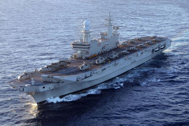 航母大国主力母舰进坞升级,即将换装隐身机,战力比俄航母强多了