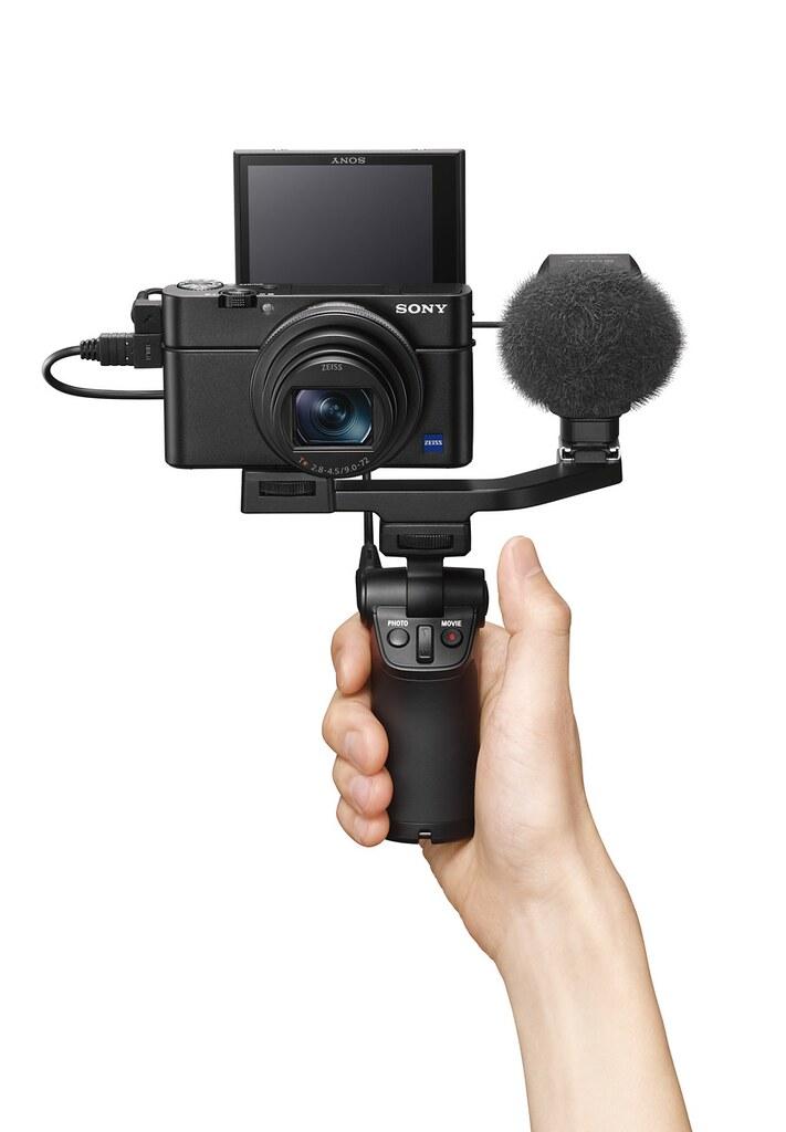 瞄准Vlog市场 索尼推出RX100 VII黑卡数码相机